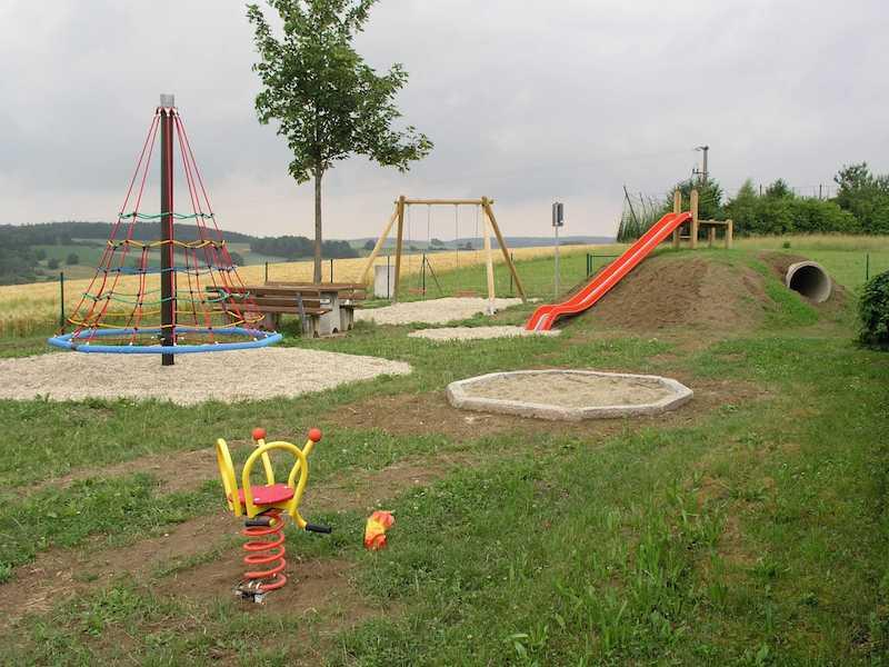 Spielplatz Rohr