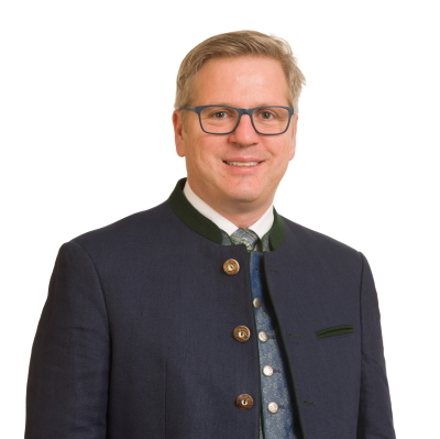 Erster Bürgermeister Andreas Rumpel